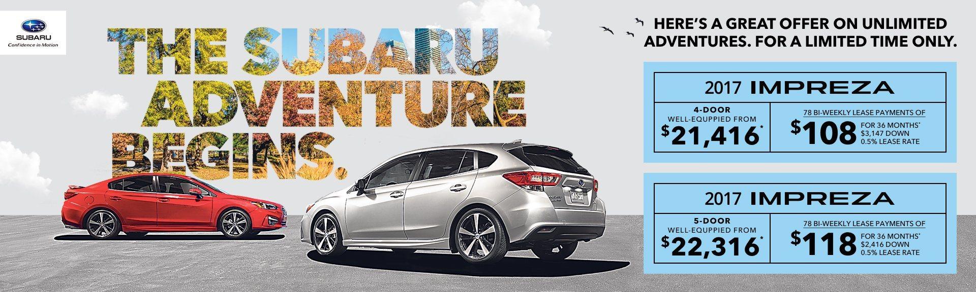 2017 Subaru Imperza