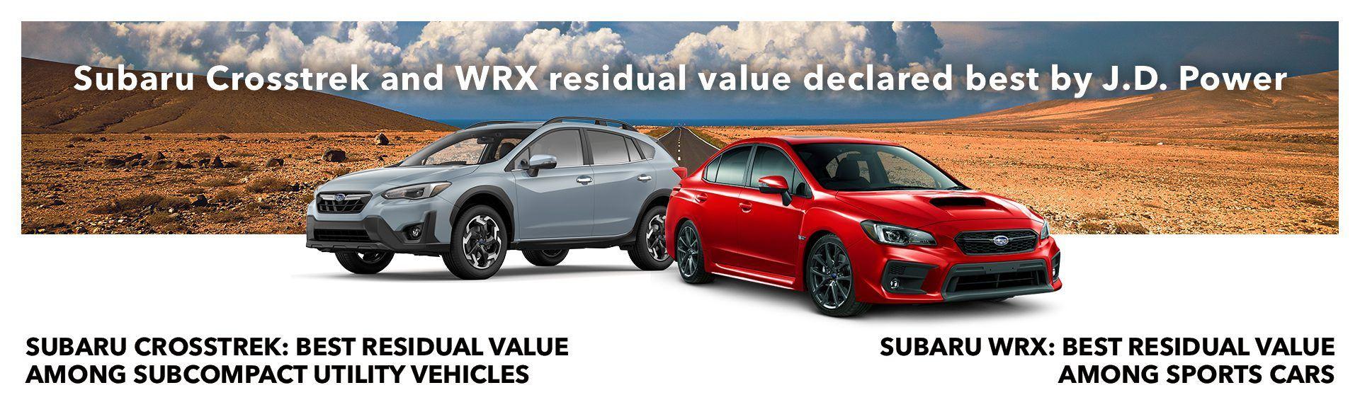 Subaru Crosstrek Banner promo